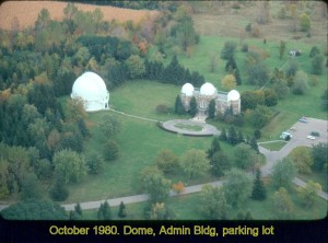 Dome, Admin Bldg, parking lot