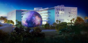 Rendering of the Miami Planetarium