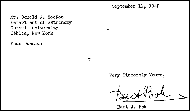 letter of request to Don